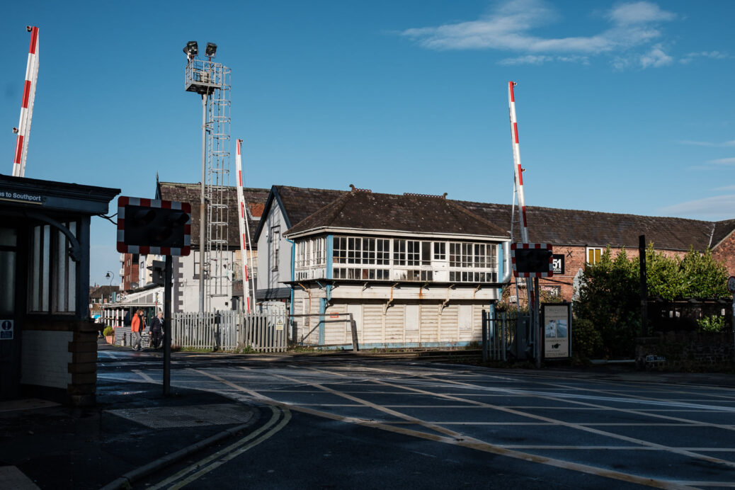 Birkdale Signal Box in Southport. Photo by Dave Brown of Dave Brown Photography