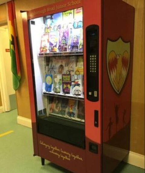Southport school unveils new book vending machine as first in the region