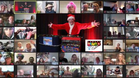 Couple create Zoom Comedy Bingo nights to bring Christmas cheer during lockdown
