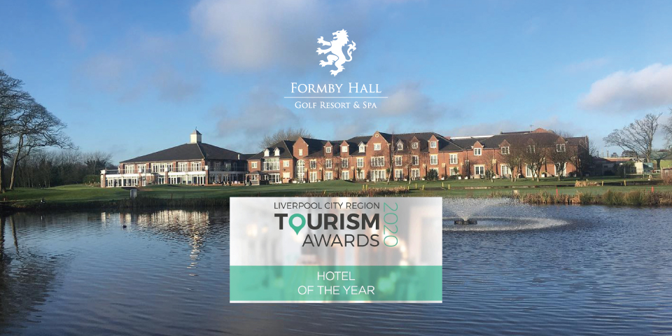 Formby Hall Golf Resort & Spa has won the Hotel Of The Year Award at the Liverpool City Region Tourism Awards 2020