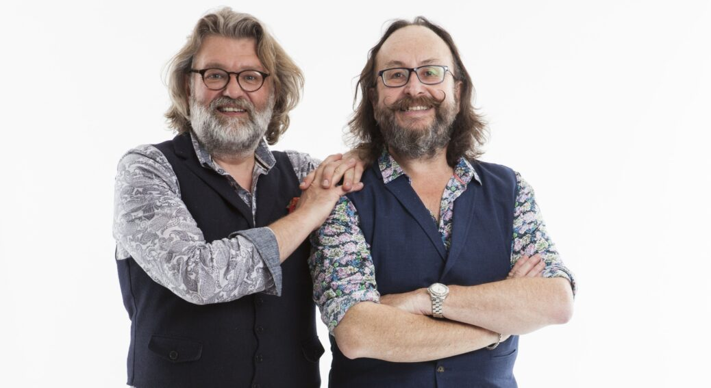 Hairy Bikers Si King (left) and Dave Myers (right) will star at Southport Flower Show 2021