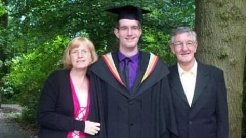 Congratulations Dr Walton! Southport man who spent 503 days in intensive care earns doctorate