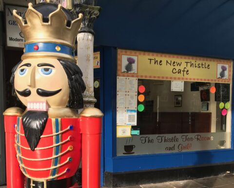 Southport Nutcracker Trail continues as Southport BID repairs damage caused by vandals