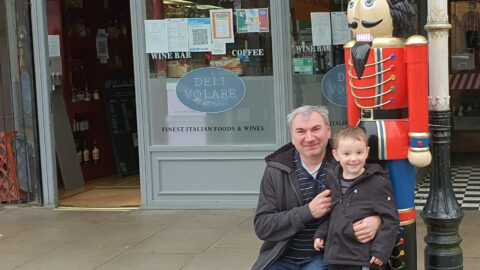 Nutcracker named after Captain Sir Tom Moore stands proud in Southport town centre