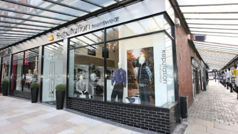 Reputation Menswear in Southport offers delivery and collection services during lockdown
