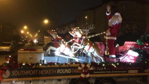 Father Christmas sleigh rides around Southport are ON after Round Table receives Tier 2 news