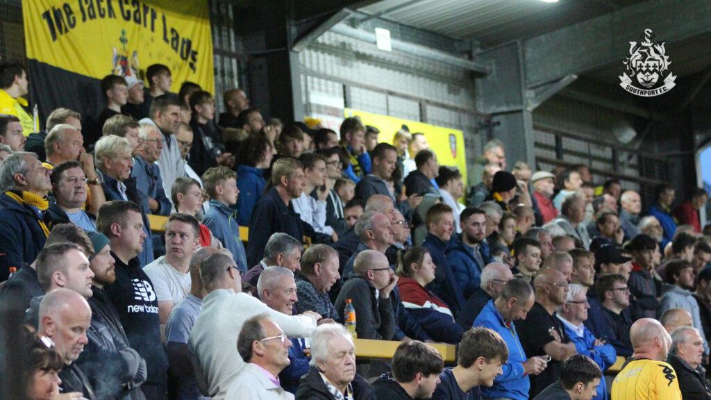 Southport FC fans