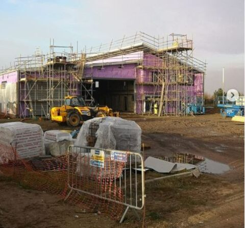 New Southport Lifeboat base nearing completion as building work continues