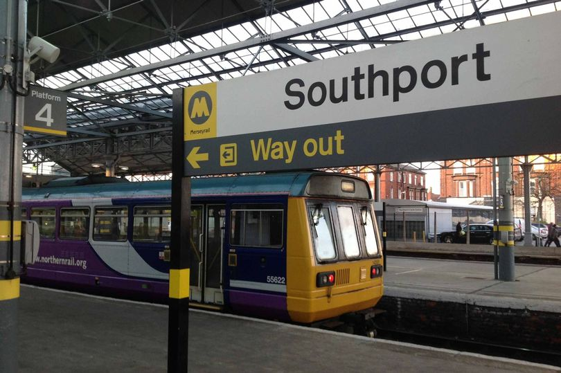 A Northern Rail Pacer Train at Southport Railway Station. Photo by Andrew Brown Media
