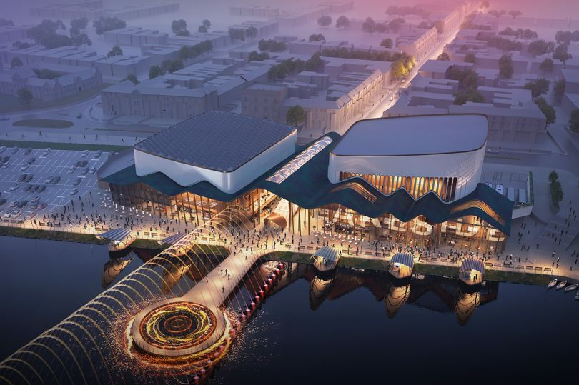 How the new waterside events venue in Southport could look