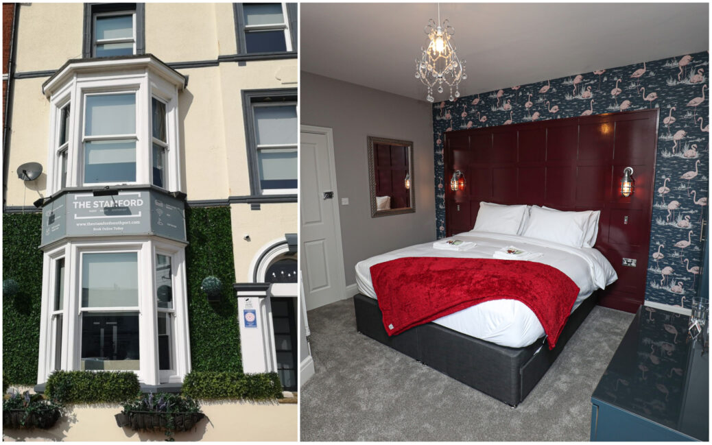 The Stamford guest house in Southport