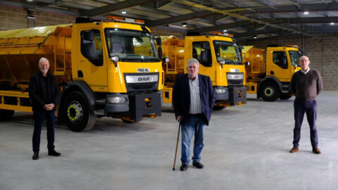 Sefton Council unveils new Winter Hub that can store 3500 tonnes of salt for road gritting