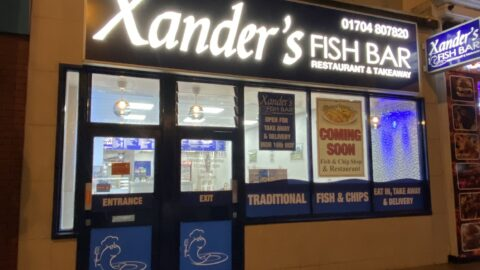 New chippy Xander's Fish Bar opens in Southport town centre