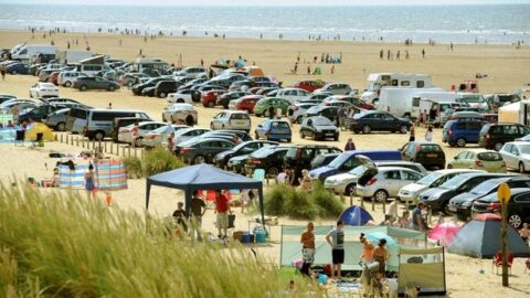 Ainsdale Beach £350,000 investment will see new parking facilities to cope with visitor numbers