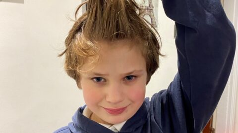 Schoolboy, 10, to lose six inches of hair on New Year's Eve to raise money for Queenscourt Hospice