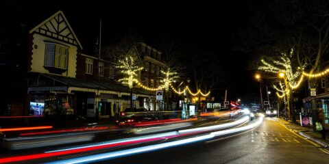 Beautiful lights make Birkdale Village sparkle this Christmas as firms thanked for generosity