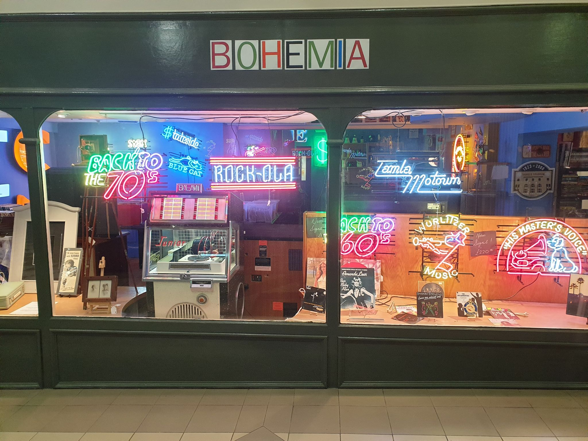The new Bohemia shop, incorporating The Jukebox Joint, has opened in Cambridge Walks in Southport town centre