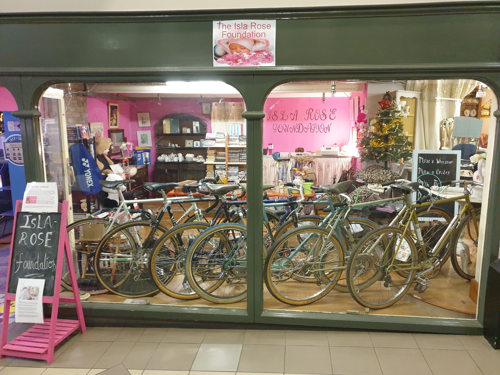 The new Bohemia shop, incorporating The Isla Rose Foundation, has opened in Cambridge Walks in Southport town centre