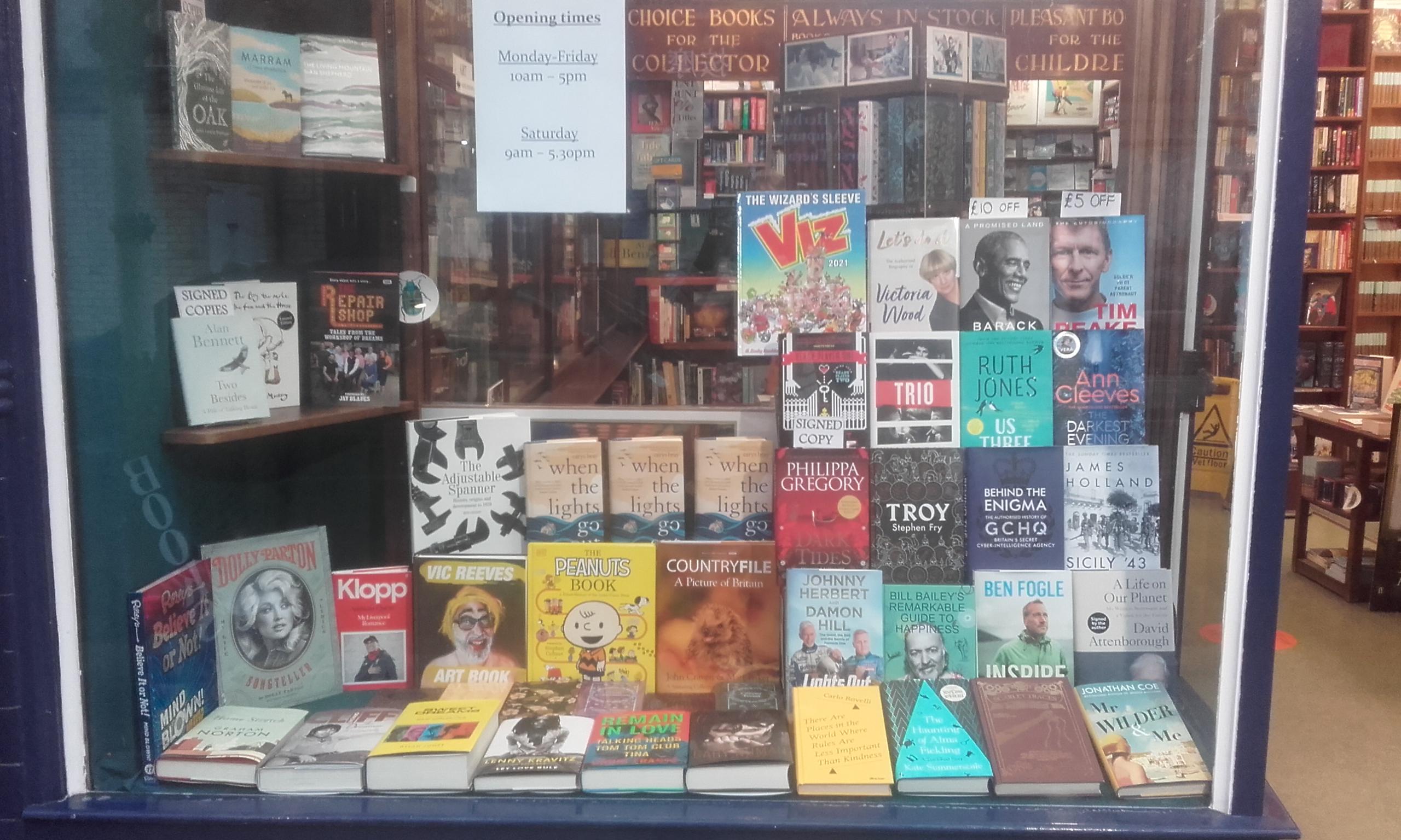 Broadhurst's bookshop in Southport