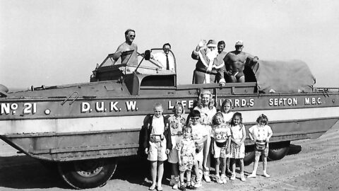 Southport Nostalgia: When Father Christmas swapped his sleigh for a Southport DUKW