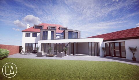 Southport architect uses Virtual Reality technology so people can 'walk around' their new homes
