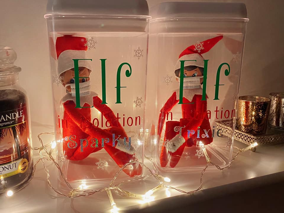 Elf On The Shelf by Stacey Williams