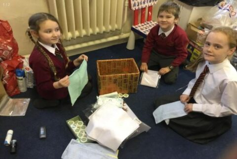 Farnborough Road pupils share heartwarming gifts with Southport care home residents
