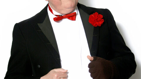 Jimmy Cricket headlines Galloways Christmas party for blind and partially sighted people and volunteers