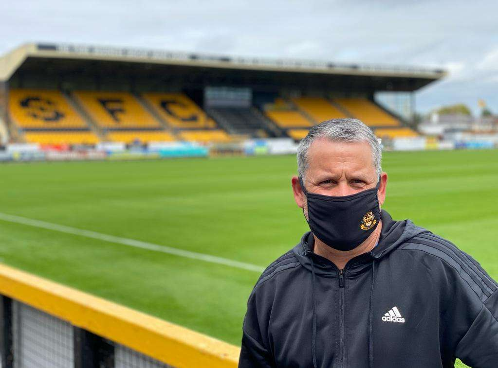 Southport FC manager Liam Watson
