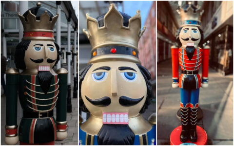Southport goes NUTS for Nutcrackers with superb photos of fun festive figures