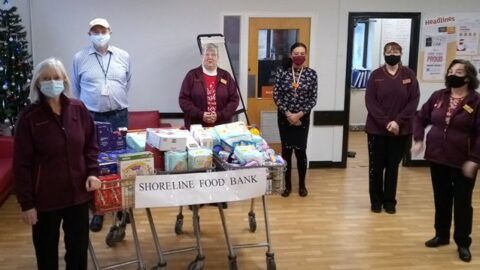 Southport Sainsbury's weighs in to help Shoreline Foodbank appeal