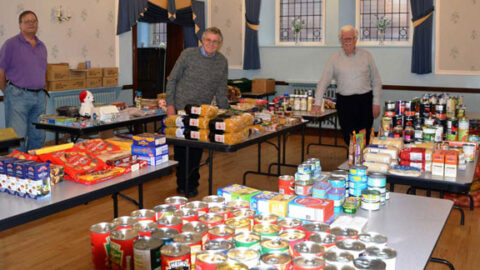 Southport Freemasons enjoy huge response in bid to support local foodbanks this Christmas