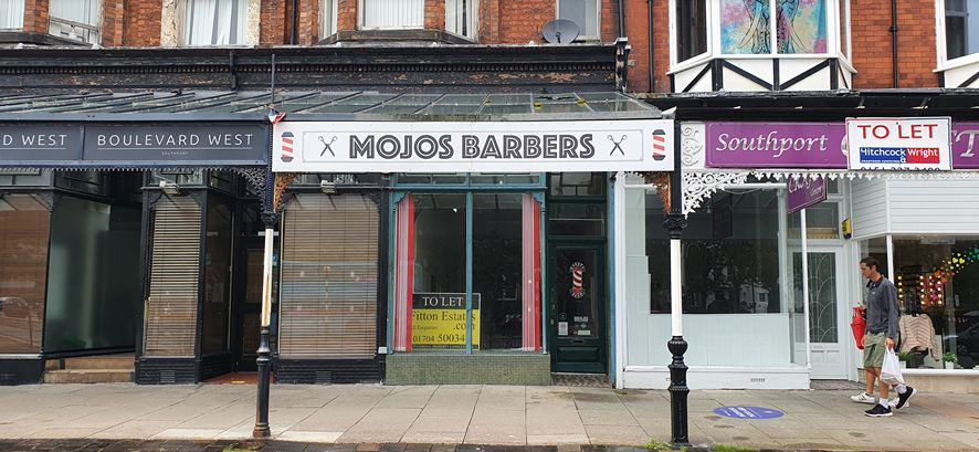 A new wine bar will open inside the former Mojo's barbers unit on Lord Street in Southport