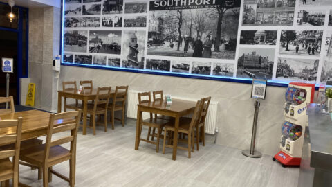 Southport's newest chippy welcomes diners for first time as national lockdown ends