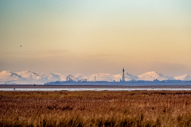 Southport photographer Kevin Jackson captured this amazing view of Blackpool from the Southport coast