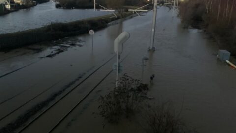 Storm Christophe: Northern rail passengers urged not to travel with delays on Merseyrail