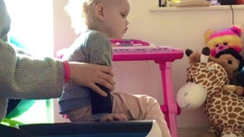 'I've noticed a huge boost in Isla's strength and balance thanks to the Community Link Foundation'
