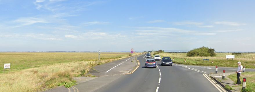 Marine Drive in Southport