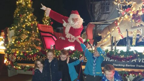Southport Hesketh Round Table Santa Sleigh raises £5,000 for struggling families