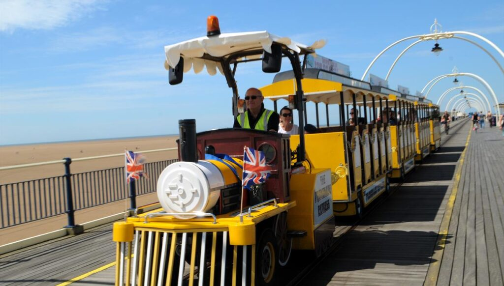 The Southport Pier Train