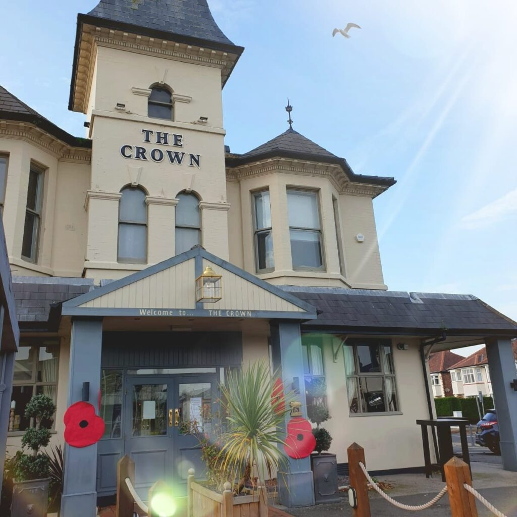 The Crown pub in Birkdale in Southport
