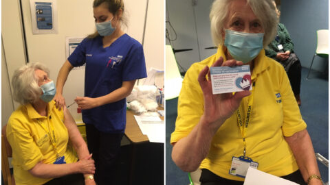 Joy as Covid-19 vaccines given to half Southport Hospital NHS staff in 10 days