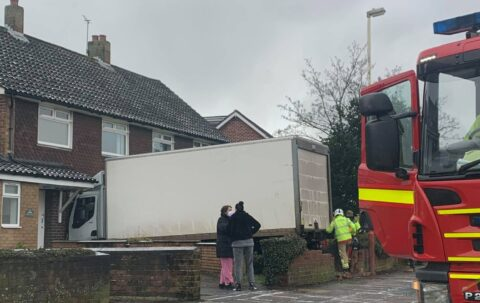 Heavy goods vehicle crashes into respite centre for children in Southport