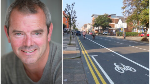 TV presenter Simon O'Brien urges Southport to embrace pop up cycle lanes