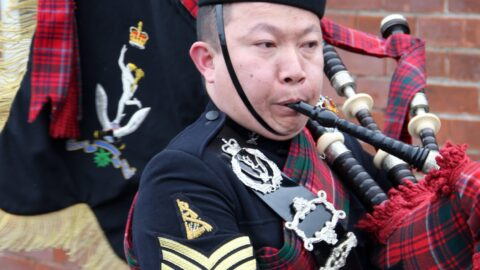 Gurkhas congratulated for 'immaculate' Attestation parade at Altcar Training Camp