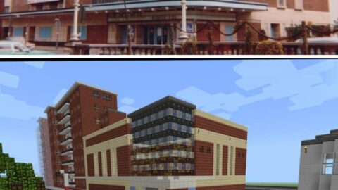 Incredible new Minecraft version of Southport shows town as you've never seen it before