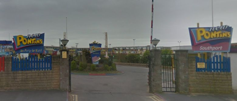Pontins holiday park in Ainsdale in Southport