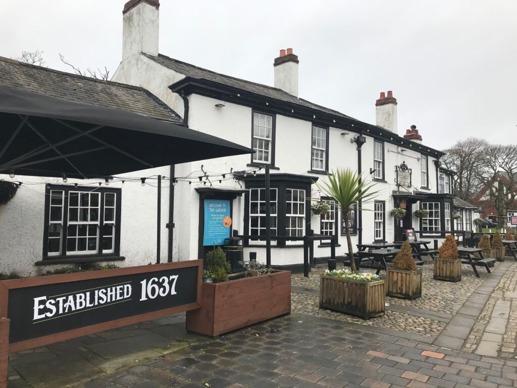 The Bold Arms pub in Churchtown in Southport. Photo by Andrew Brown Media