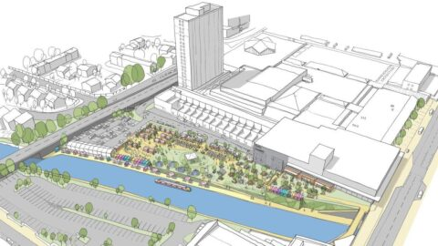 Images reveal how Bootle canalside will become exciting new events and leisure space