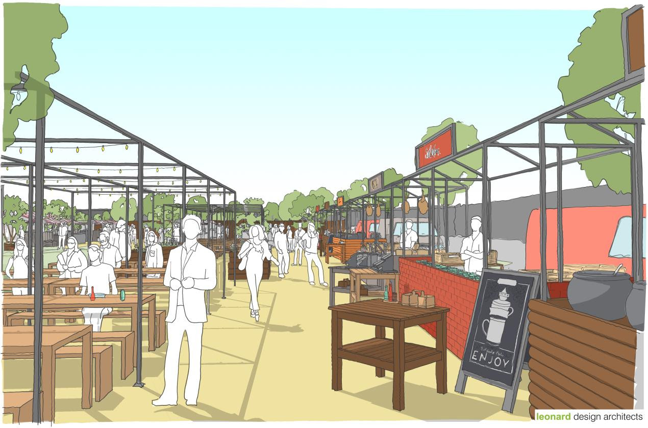 The ongoing transformation of Bootle has taken a major step forward as work begins to transform the canalside into an exciting new events and entertainment space